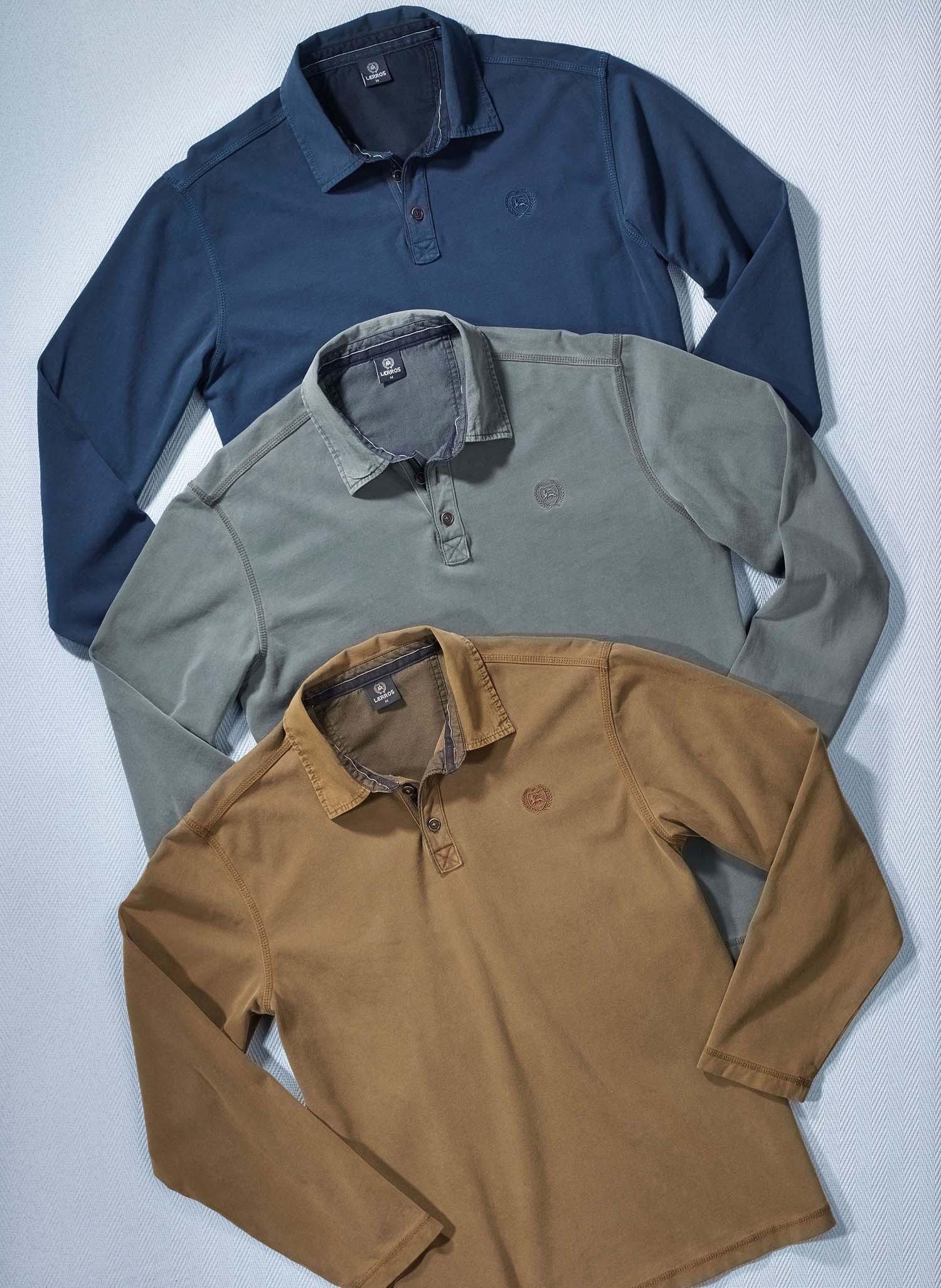 H-LA-Polo-Sweat,LERROS,marine L 053 - 2 - Ronja.ch