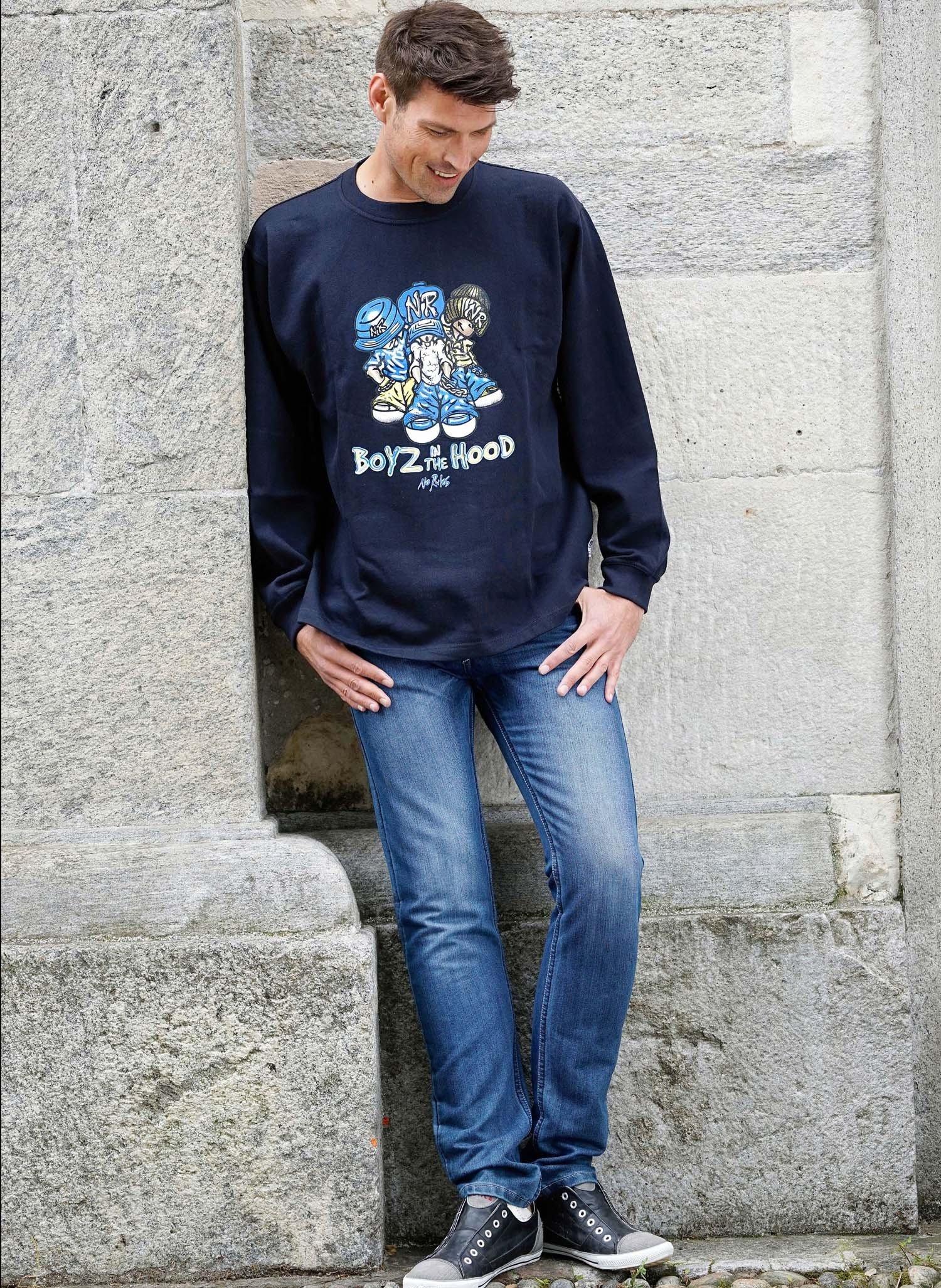 H-5P-Jeans,Sitzfalten Blue-Den 38 050 - 1 - Ronja.ch