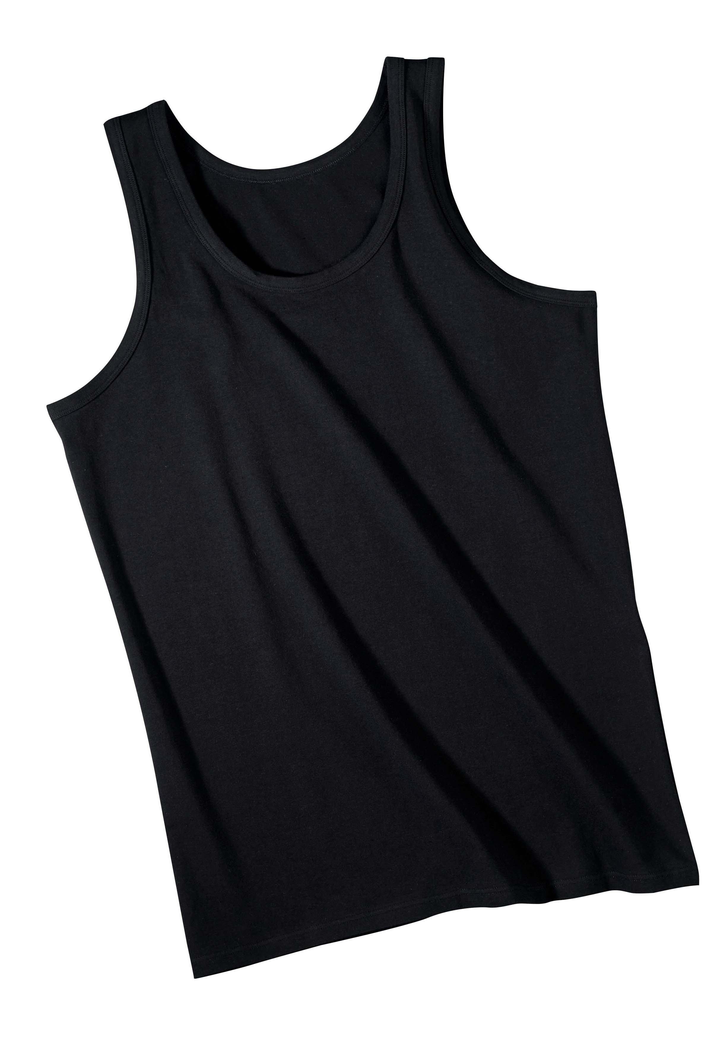 H-AL-Shirt,uni 3er-Set.schwarz L 010