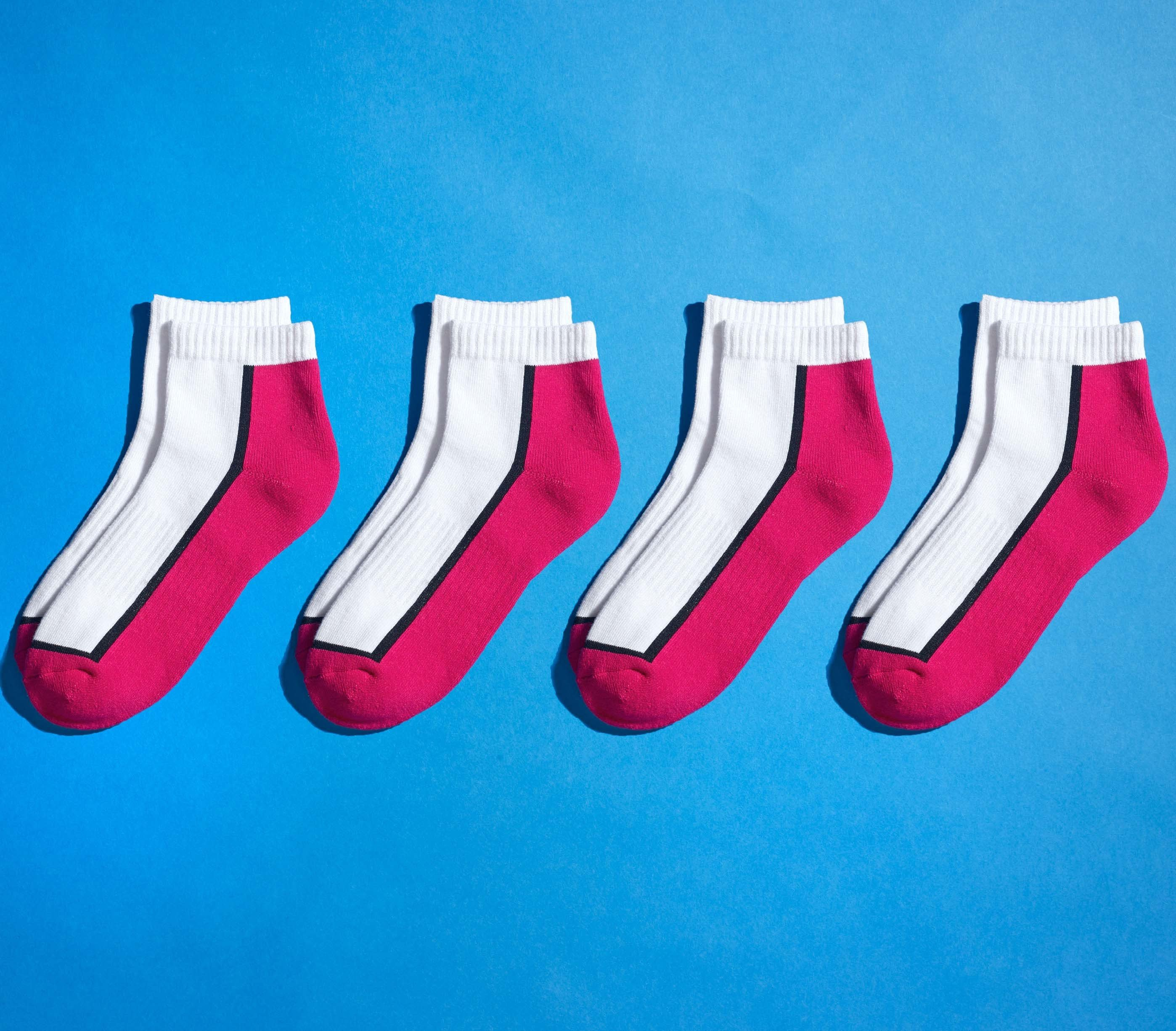 Unisex-Sneakers 4 Paar
