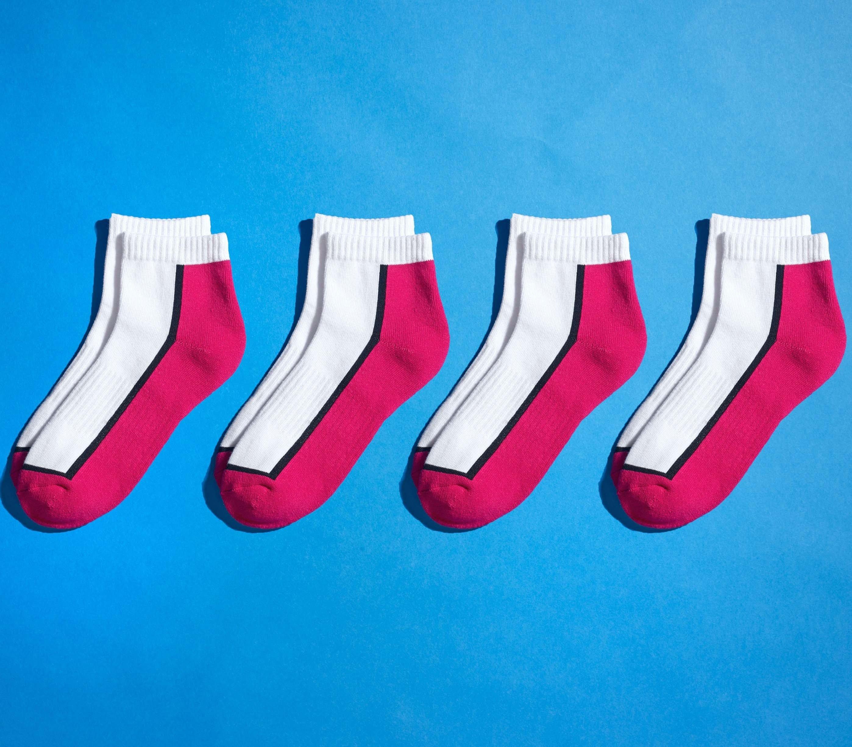 """U-Sneakers""""Brooks""""4P.pink/weis 3538 122"""