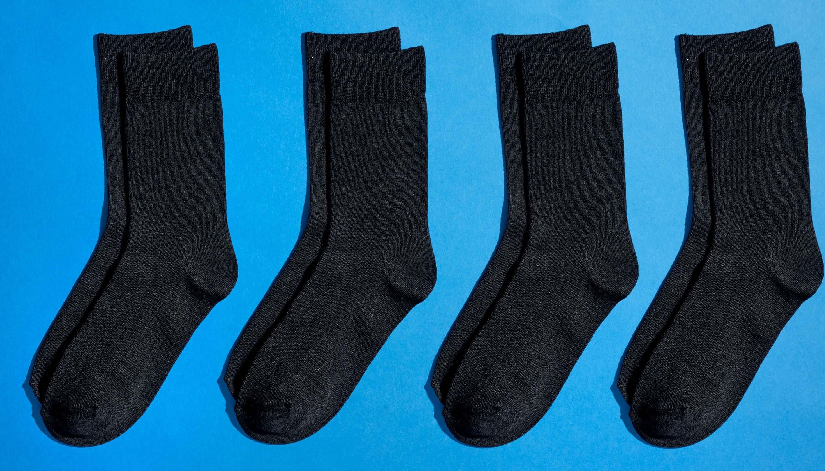 NEU! Bambusfaser-Unisex-Socken,  4 Stück