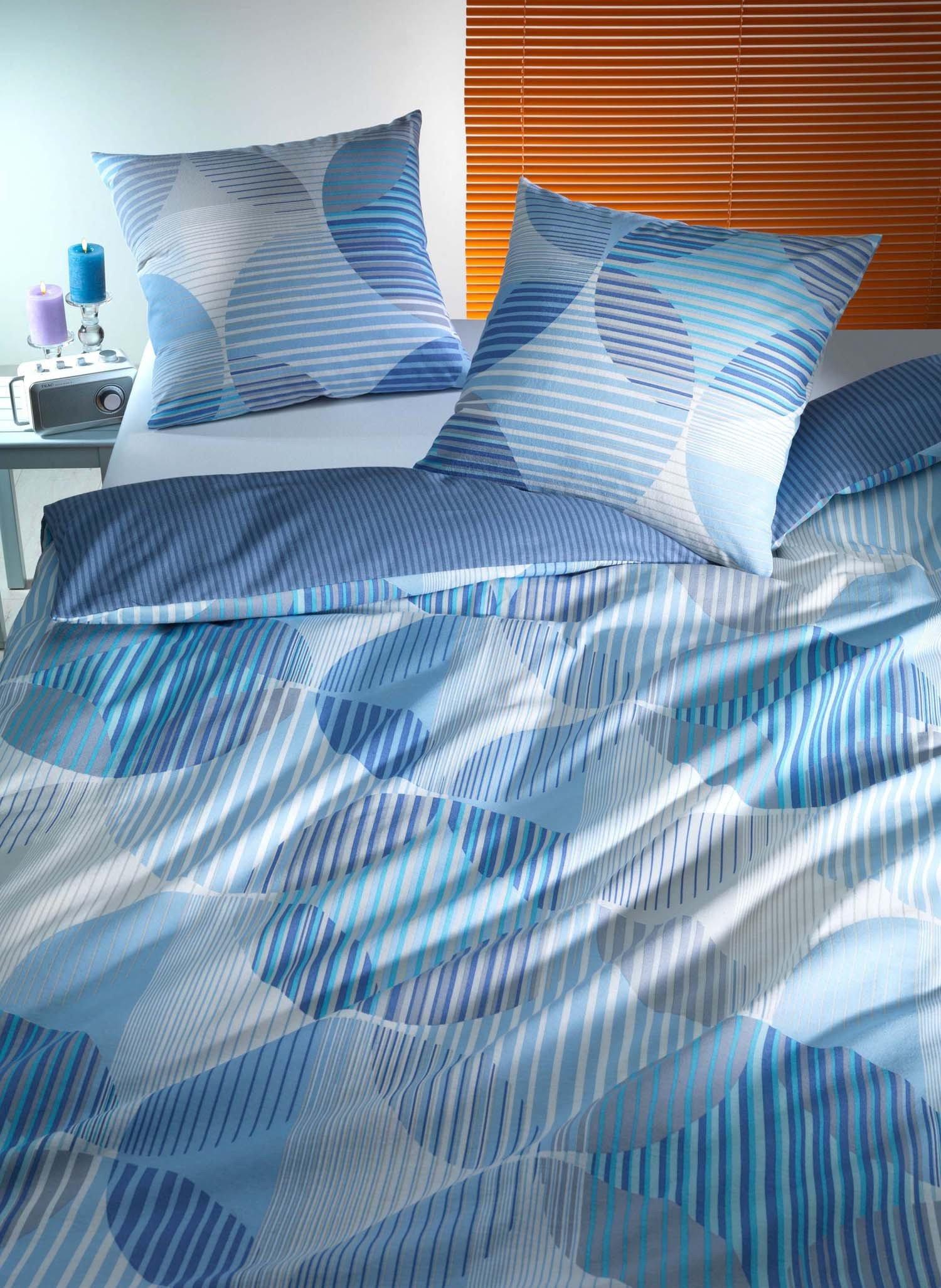"FL-Kissen""CERCHIO""50x70 blau - 1 - Ronja.ch"