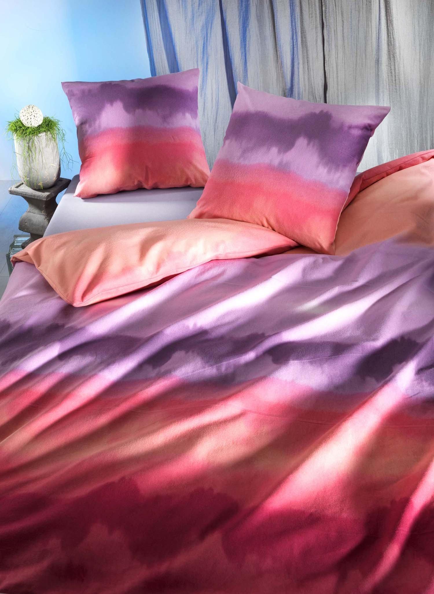 """FL-Kissen""""SINFONIE""""50x70 pink - 2 - Ronja.ch"""