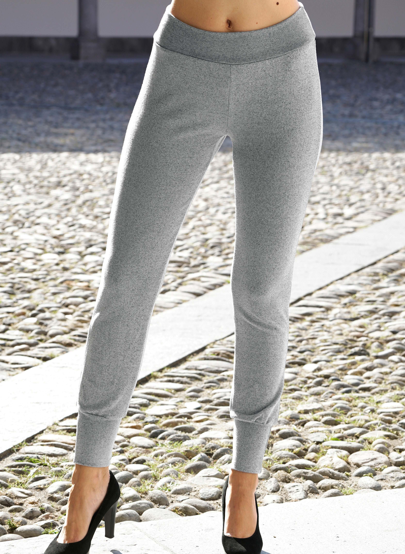 Hose, Beinabschluss mit festen Bördchen