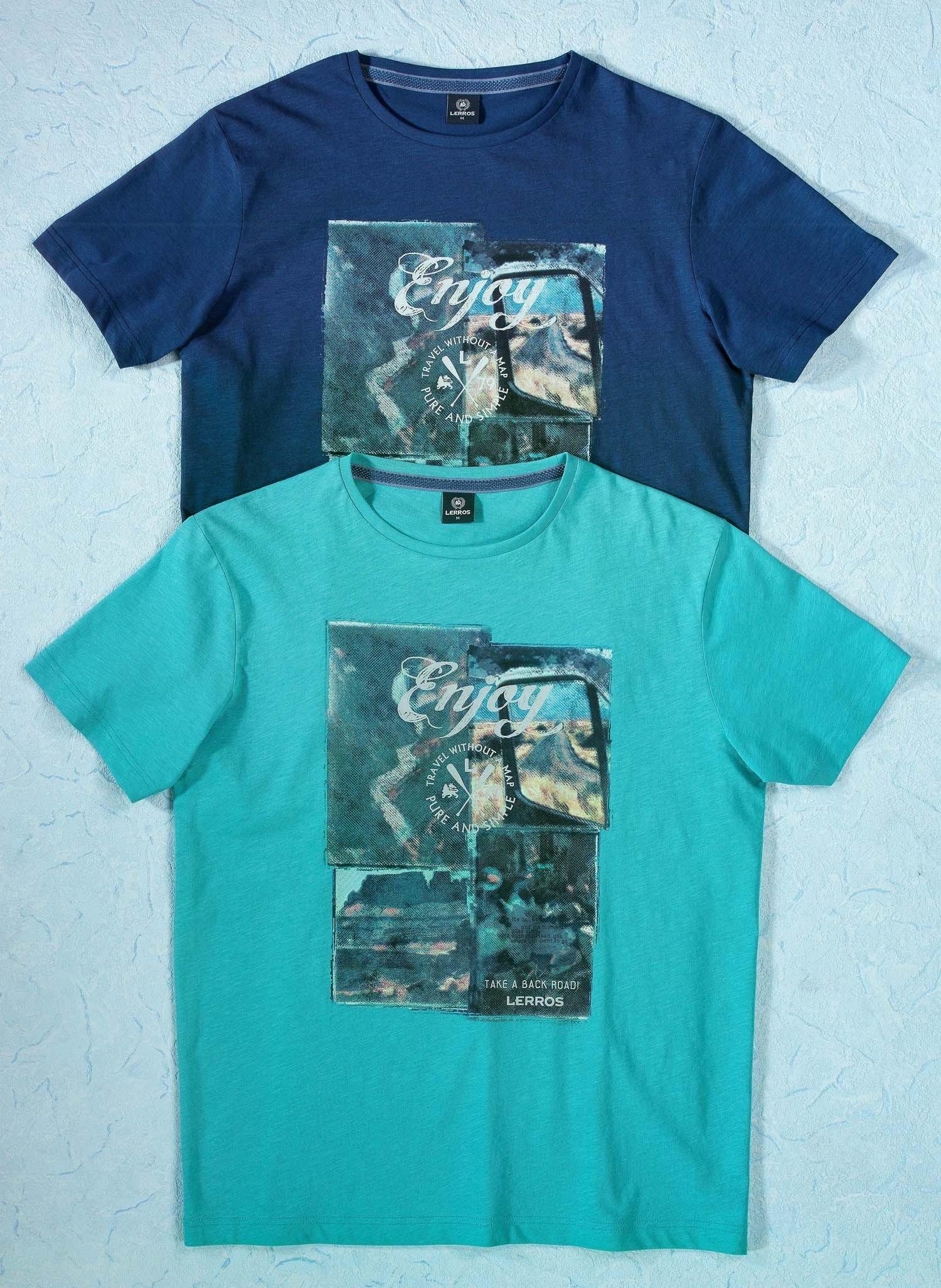 """H-KA-Shirt""""ENJOY""""indigo L 049 - 2 - Ronja.ch"""