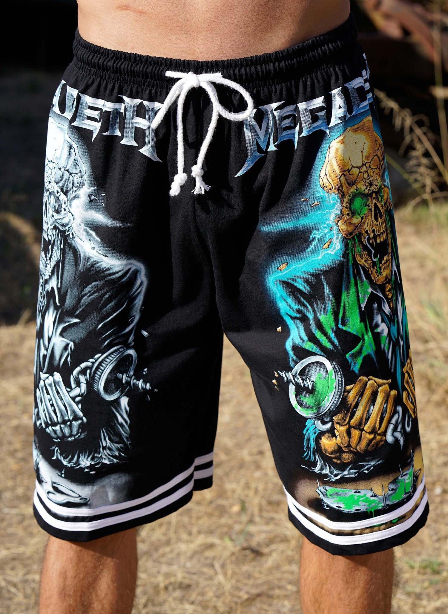 "H-Berm.-Shorts""Toten-Kopf""schw L 010 - 1 - Ronja.ch"