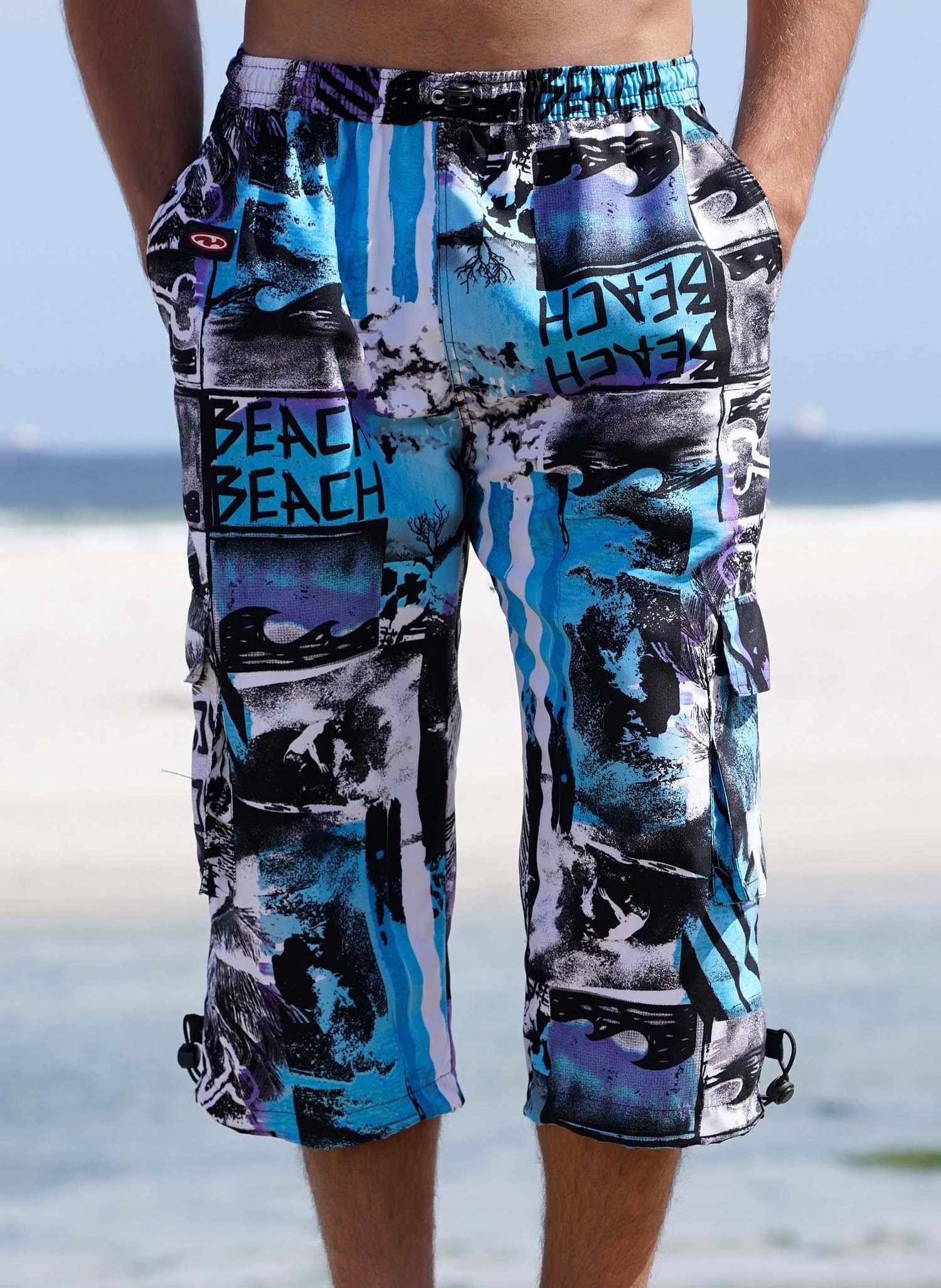 """H-Skater, """"BEACH""""  blau L 047 - 2 - Ronja.ch"""