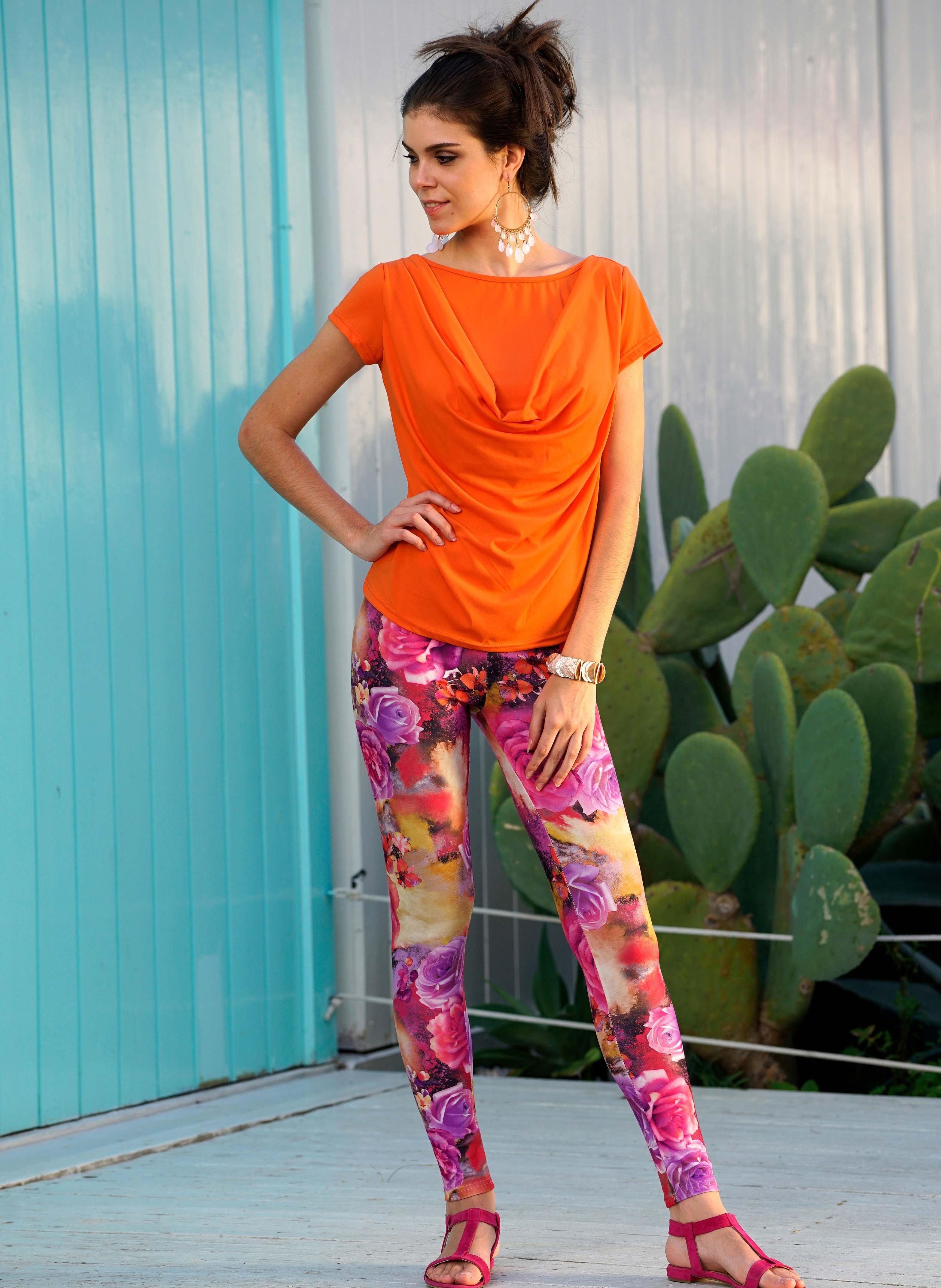Leggings Colors-Floralprint