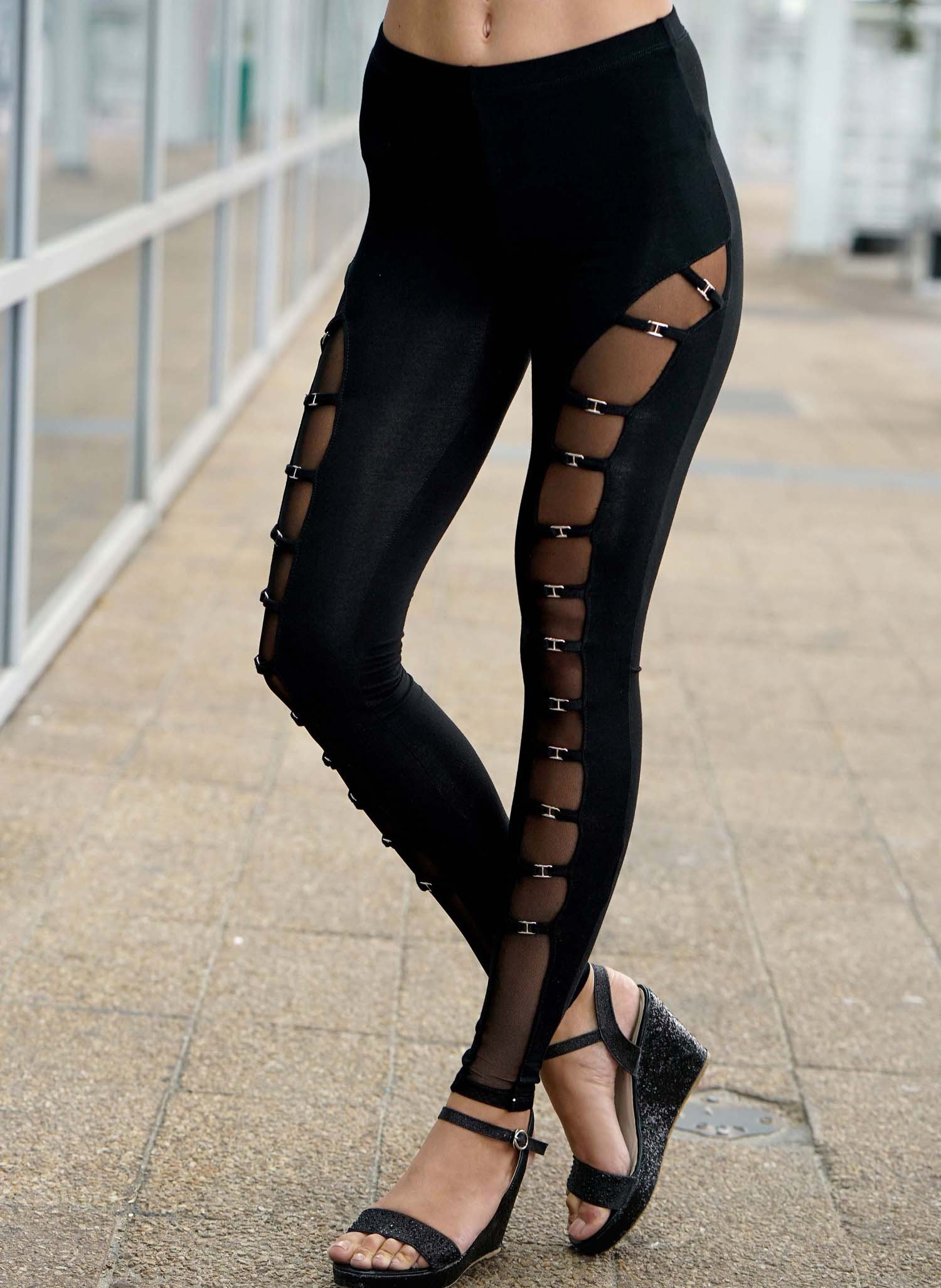 D-Cocktail-Leggings,Tüll schw. L 010 - 1 - Ronja.ch