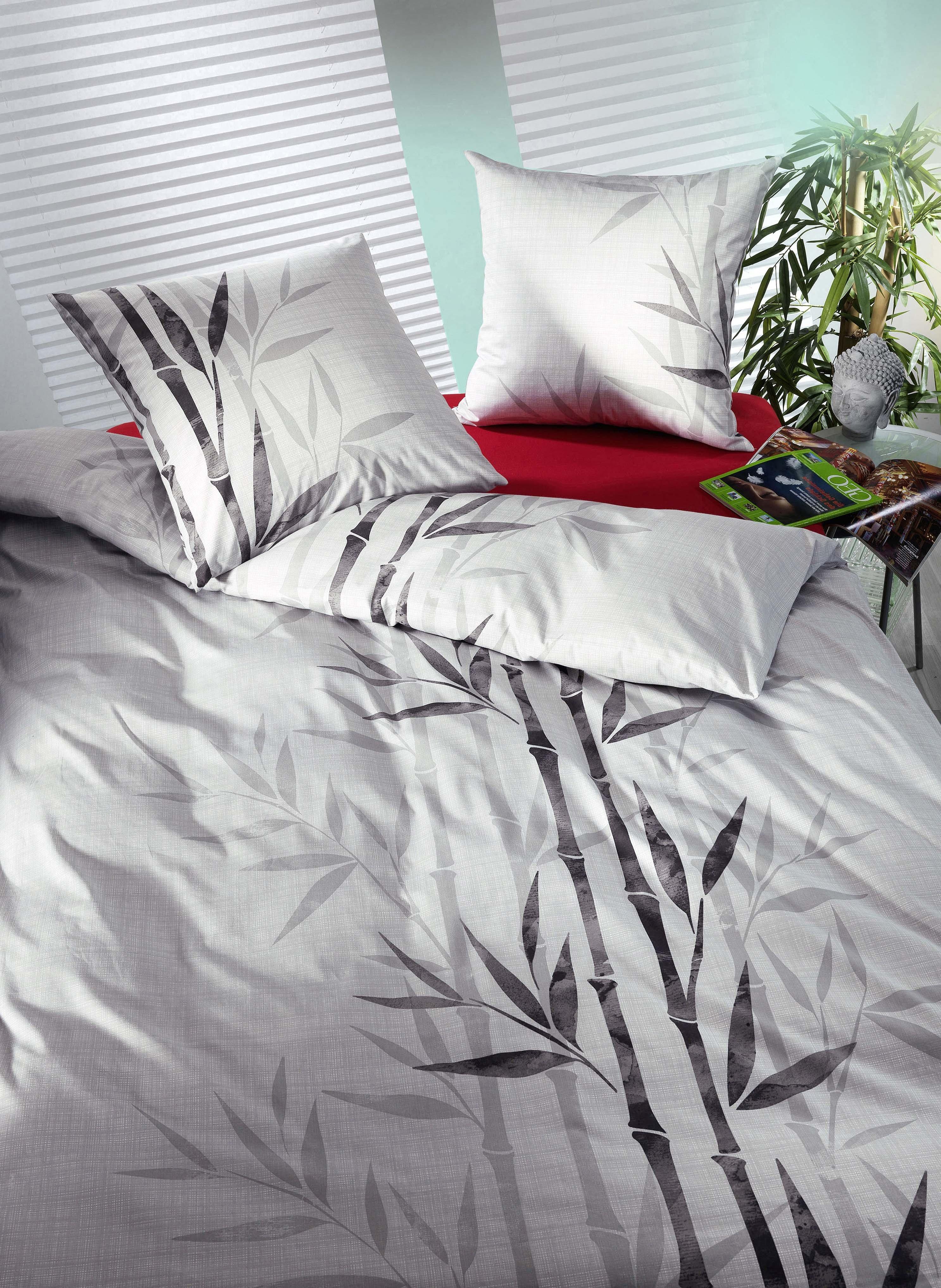 Bambusfaser-Bettwäsche «DAISUKE»