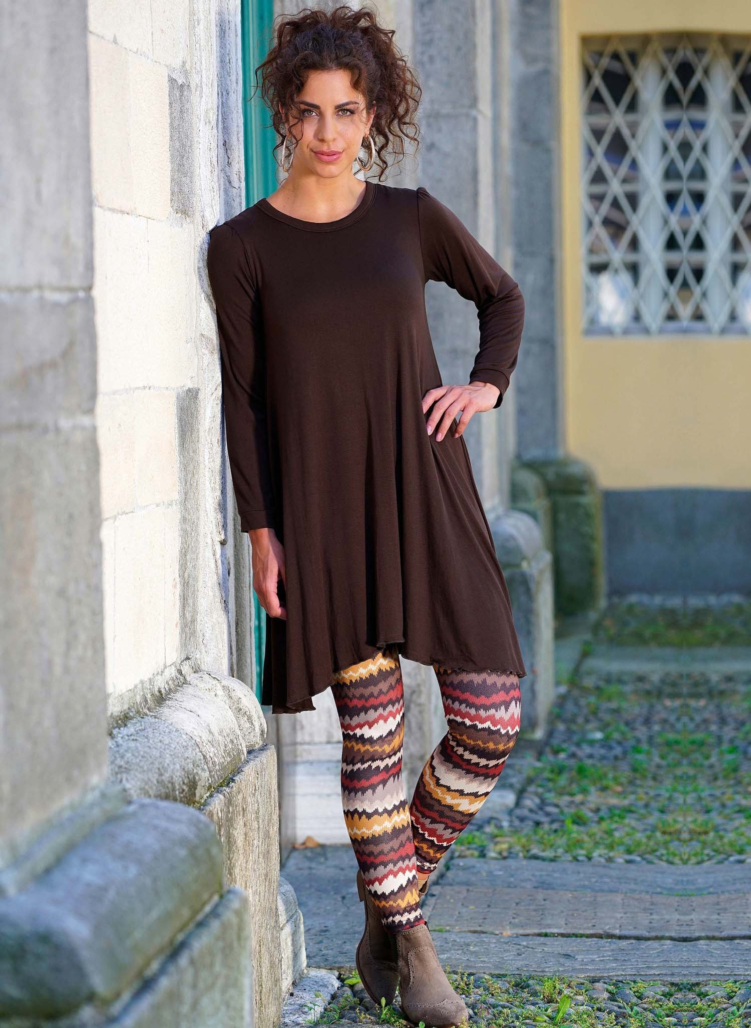 D-Leggings,Colorzack.braun/ock XL 305 - 2 - Ronja.ch