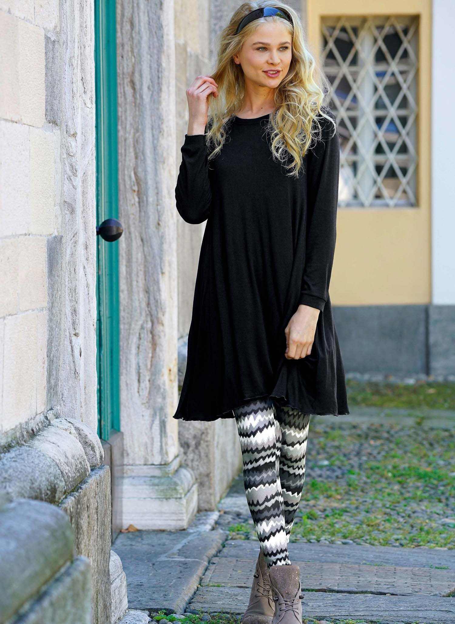 D-Leggings,Colorzack.grau/schw XL 174 - 2 - Ronja.ch