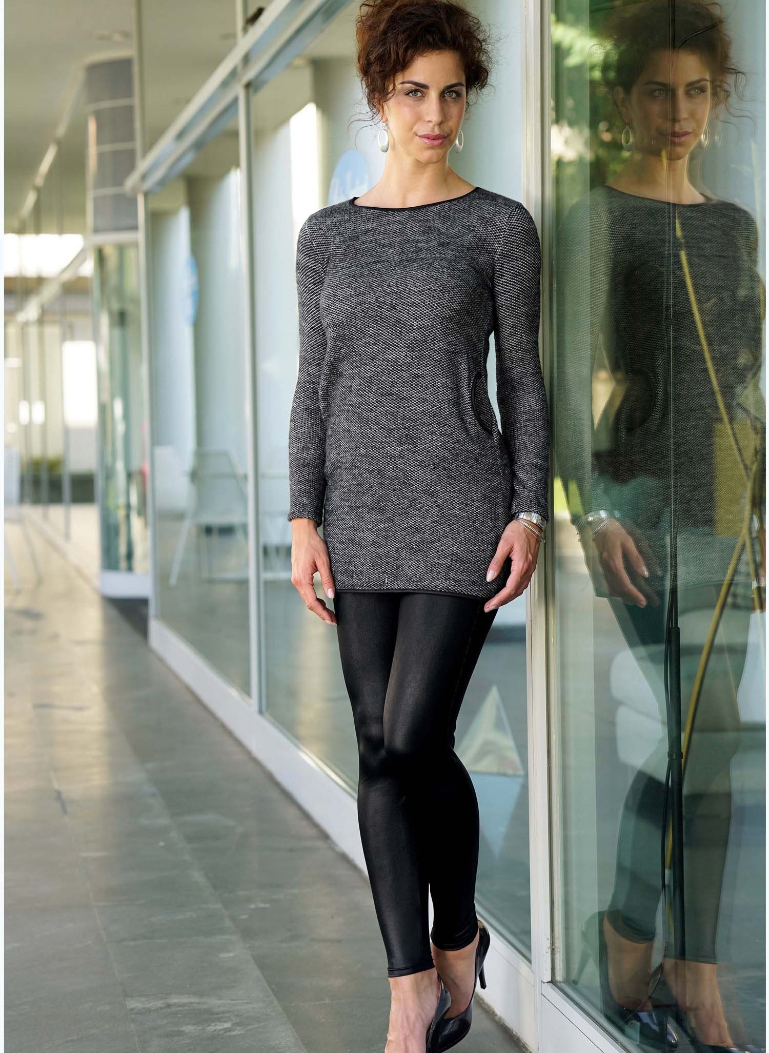 D-Longtop/Kleid,  anthracite XL 013 - 2 - Ronja.ch