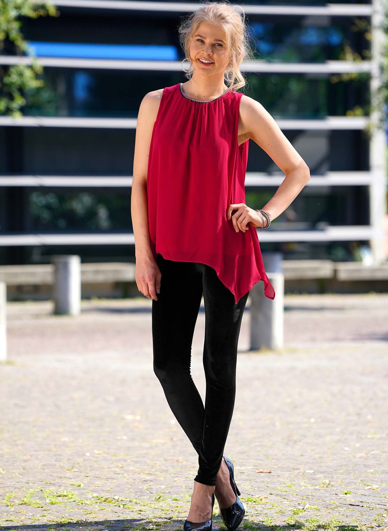 D-Longtop, voile, rot XL 023 - 2 - Ronja.ch