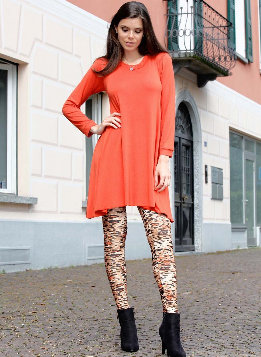Leggings Animal-Print