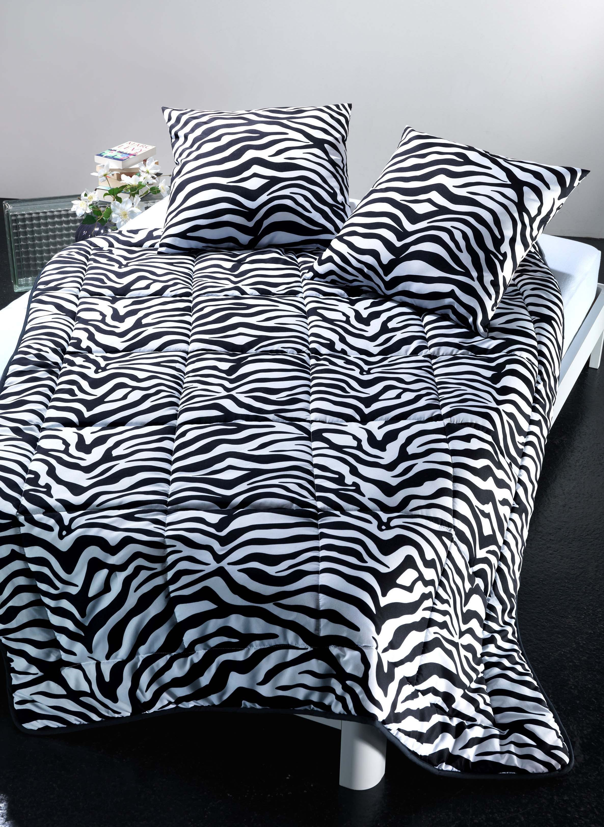 bett berwurf zebra. Black Bedroom Furniture Sets. Home Design Ideas