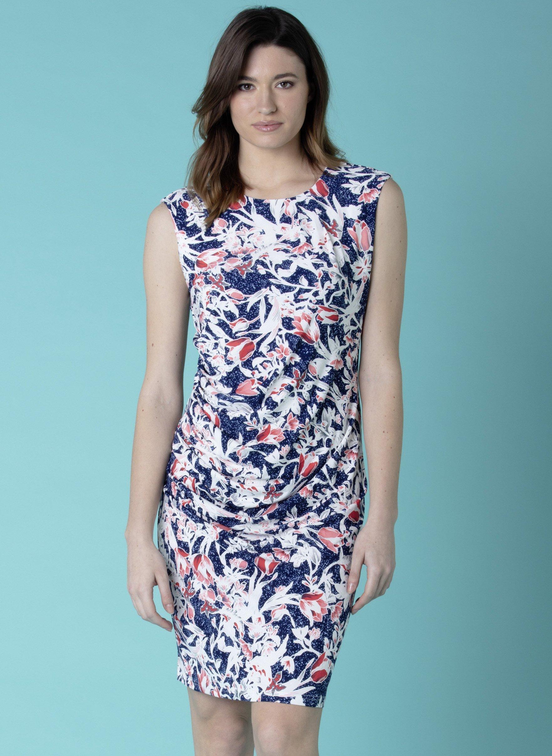 Ärmelloses-Kleid, Tulpen