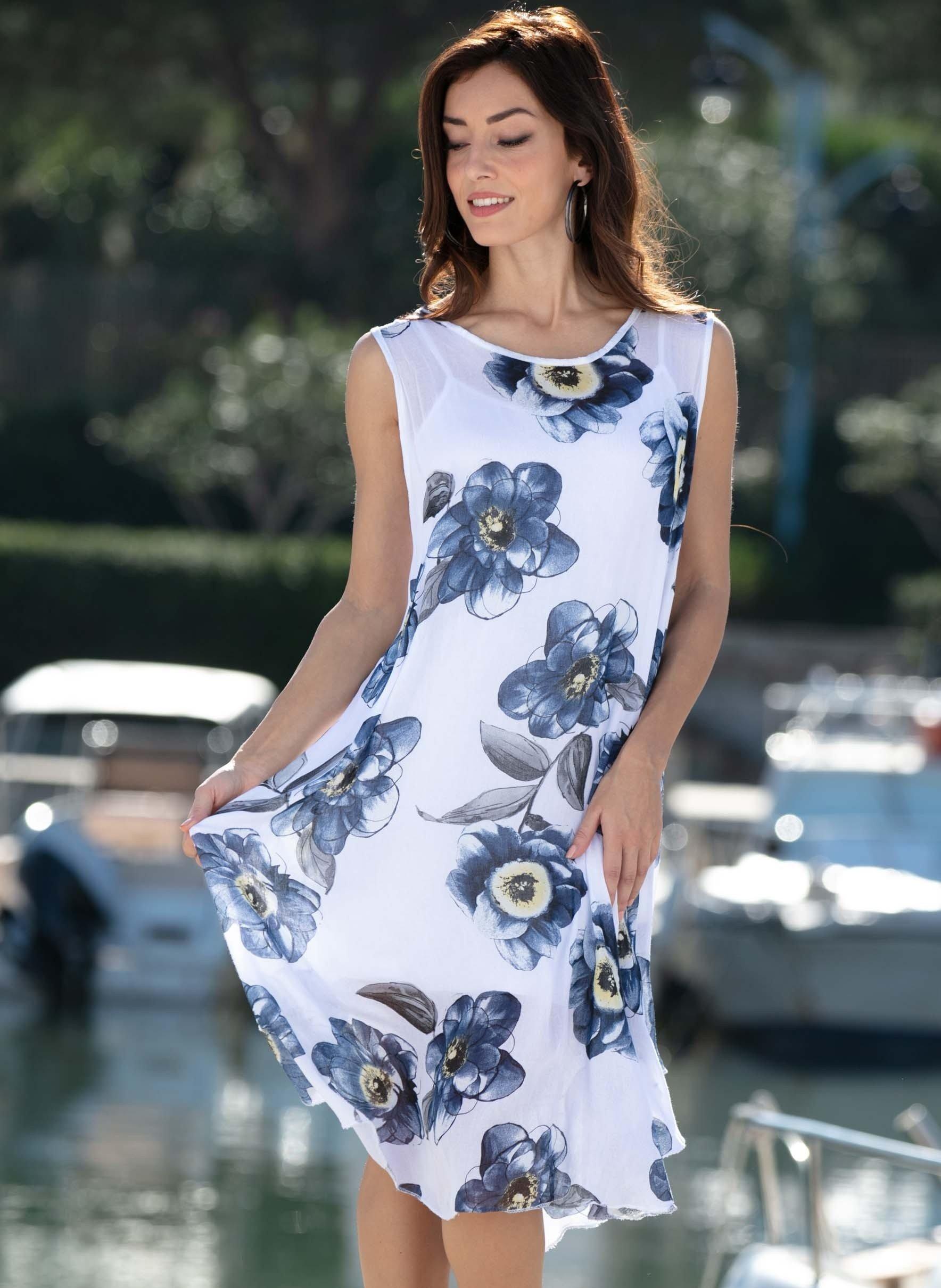 Aermelloses-Kleid, 2-teilig