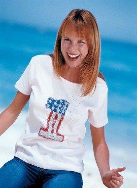 Kurzarm-Shirt USA Nr.1