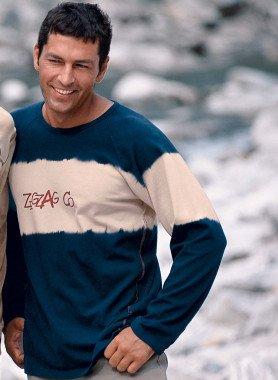Langarm-Shirt, Zig-Zag Co