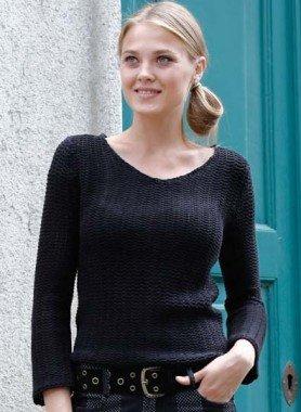 Pullover Häkel-Look