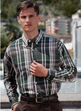 Langarm-Hemd, Karo
