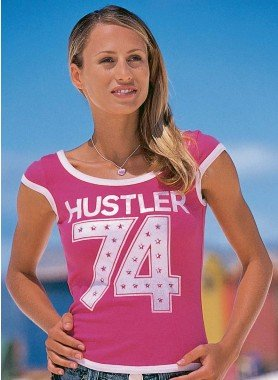 """Kurzarm-Shirt """"HUSTLER 74"""""""