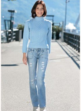 Jeans, Lochapplikation