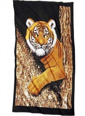Strandtuch «Tiger» 100x180cm