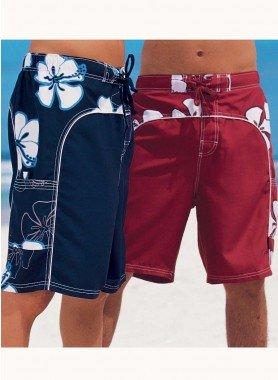 Bermuda-Shorts, Floral