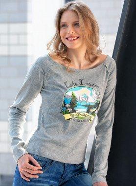 Langarm-Shirt, Frontprint