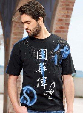 Kurzarm-Shirt Ethnoprint