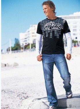 Worker-Jeans, Cargotasche