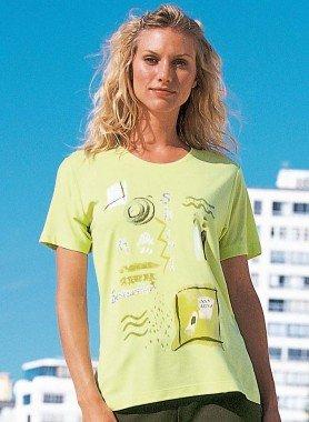 Kurzarm-Shirt, Frontprint