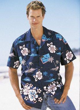 Kurzarm-Hawaii-Hemd