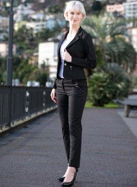 Anzug, Stretch-Qualität