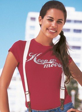 "Shirt ""Keep on Moving"""