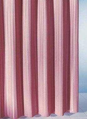 Textil-Duschvorhang unifarbig