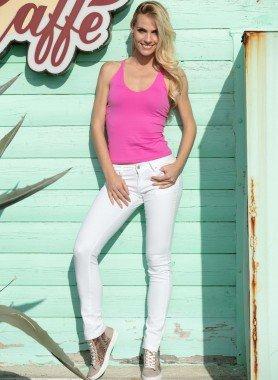 5-Pocket-Stretch-Hose, Nietenverzierung