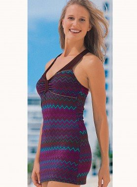 Träger-Kleid, Reissverschluss