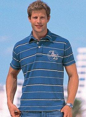 "Kurzarm-Polo-Shirt, ""AL"""