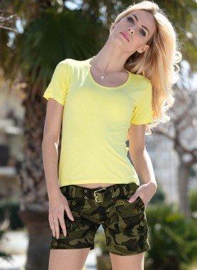 Shorts, Army-Print