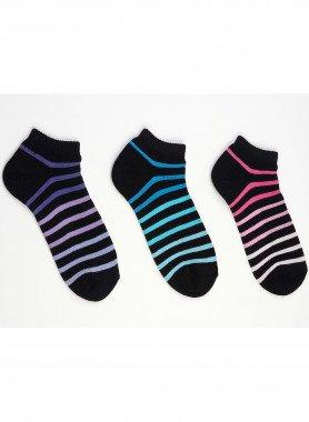 Colorringel-Sneakers 4 Stück