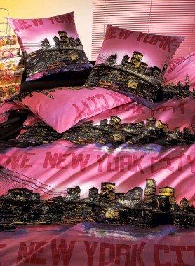 Bettwäsche-Garnitur «NEW-YORK CITY»