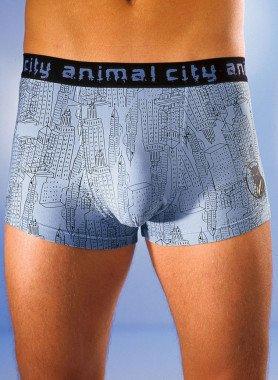 Herren-Boxer «animal-city» 2 Stück