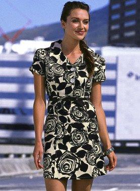 Kleid, Rosen