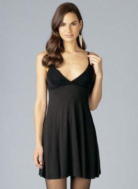 Träger-Kleid, Glitzer
