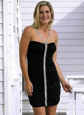 Cocktail-Kleid, Strassband