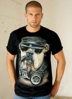 "Kurzarm-Shirt ""Bitbull"""